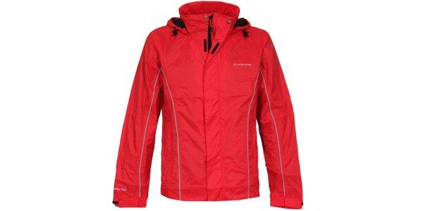 Pánska červená nepremokavá bunda Bergson