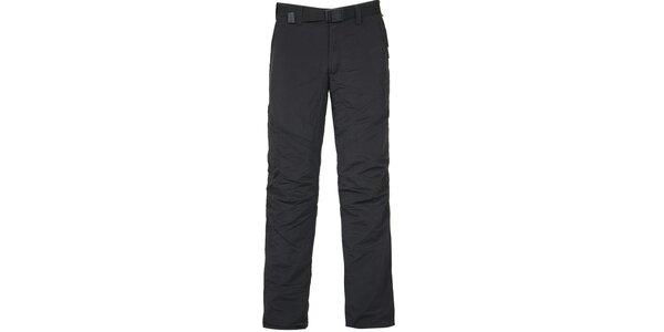 Pánske čierne outdoorové nohavice Bergson