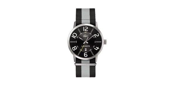 Pánske zeleno-biele hodinky Lacoste