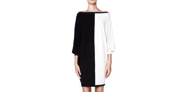 Dámske čierno-biele šaty Yuliya Babich