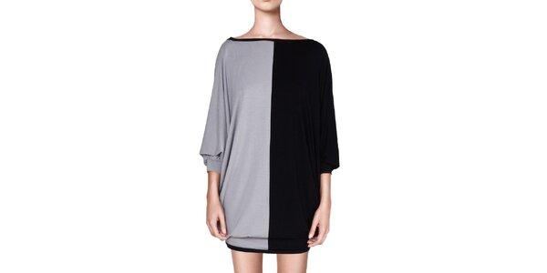 Dámske čierno-šedé šaty Yuliya Babich