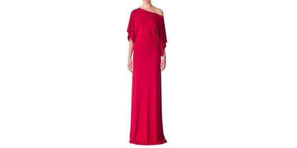 Dámske ohnivo červené večerné šaty Yuliya Babich