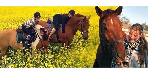 2-hodinová jazda na koni pre 2 osoby