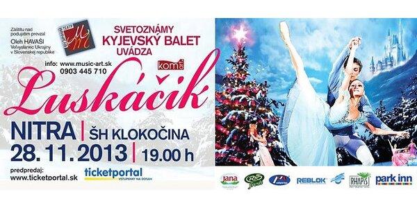 Divadelná baletná rozprávka Luskáčik