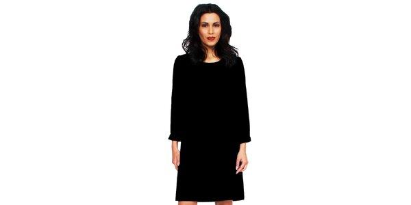 Dámske čierne šaty s holým chrbátom Andrea G Design