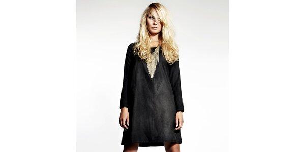 Dámske čierne retro šaty Andrea G
