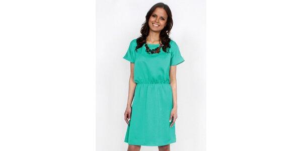 Dámske zelené šaty Andrea G