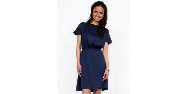 Dámske tmavo modré šaty Andrea G. Design