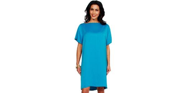 Dámske tyrkysové šaty Andrea G Design