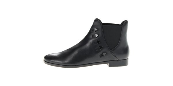 Dámske čierne chelsea topánky House of Harlow