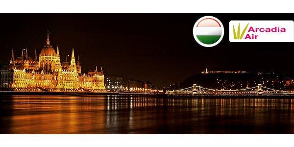 4 dni v adventnej Budapešti s návštevou kúpeľov