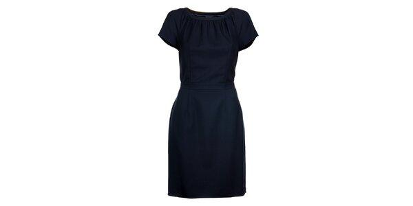 Dámske tmavo modré šaty Tommy Hilfiger