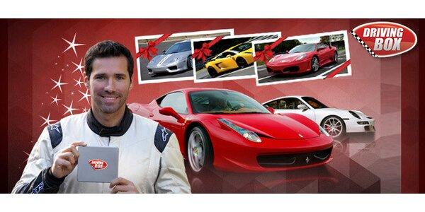 Jazda na Ferrari, Lamborgini a Porsche