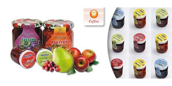 Pečené ovocné čaje rôznych príchutí