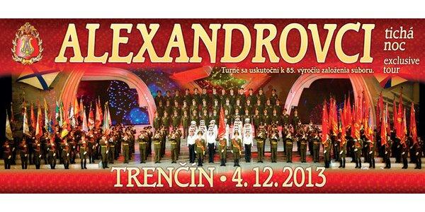 Vianočný koncert Alexandrovcov