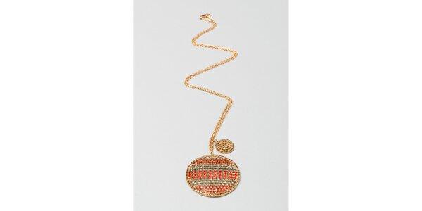 Dámsky zlatý náhrdelník s amuletom Pietro Filipi