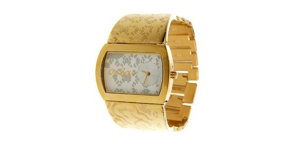 Dámske zlaté hodinky Oxbow