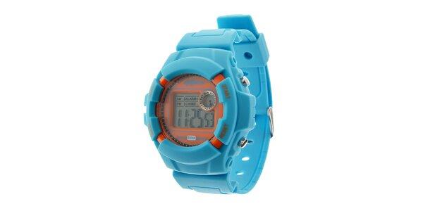 Pánske svetlo modré digitálne hodinky Oxbow