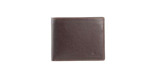 Hnedá kožená peňaženka Brooksfield