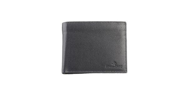 Prešívaná čierna peňaženka Brooksfield