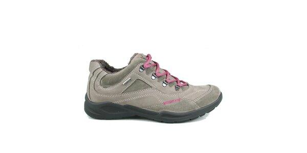 Dámske šedo-béžové športové topánky Numero Uno