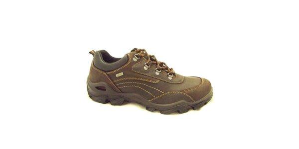 Pánske hnedé športové topánky Numero Uno