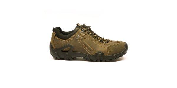 Pánske hnedo-béžové športové topánky Numero Uno