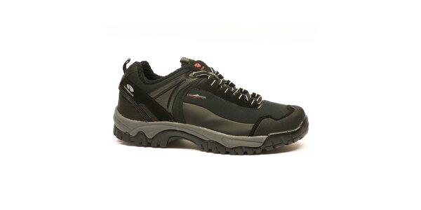 Pánske čierne trekové topánky Numero Uno
