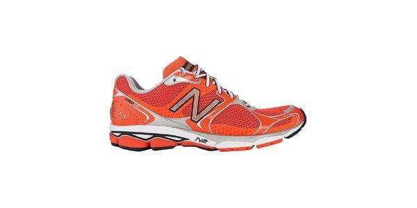 Pánske červené bežecké topánky New Balance