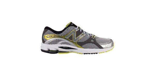 Pánske žlto-strieborné bežecké topánky New Balance