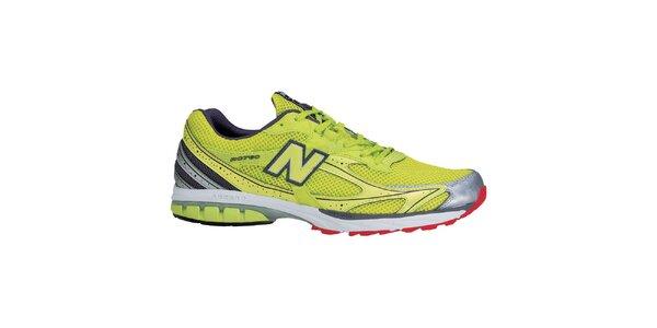 Pánske žiarivo žlté bežecké topánky New Balance