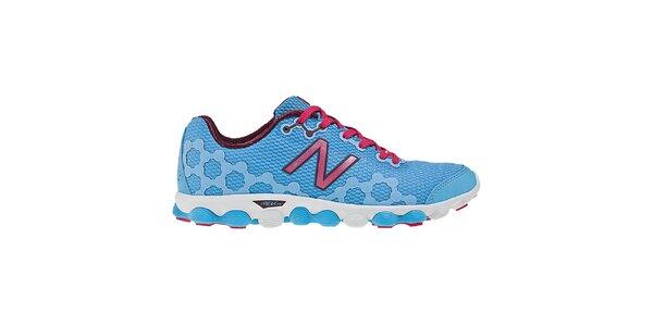 Dámske modro-ružové bežecké topánky New Balance