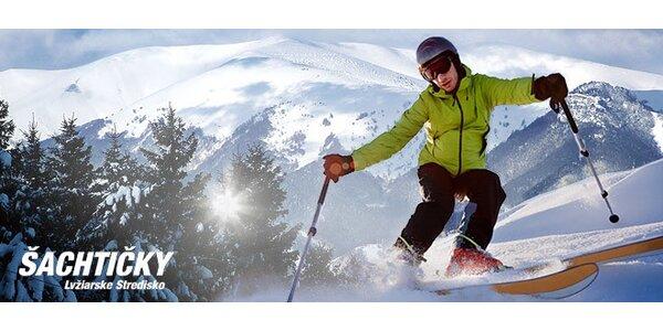 3-hodinový skipas v lyžiarskom stredisku Šachtičky