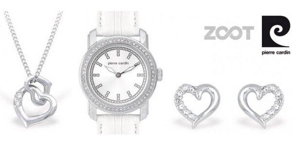 luxusný set šperkov a hodiniek Pierre Cardin