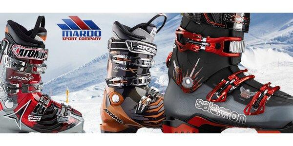 Lyžiarky a snowboardové topánky
