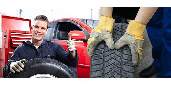 Výmena pneumatík a kontrola stavu vozidla pred zimnou sezónou