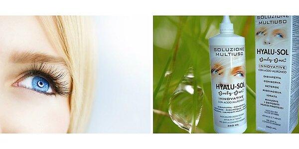 HYALU SOL - balenie 2 ks roztokov na mäkké kontaktné šošovky s obsahom kyseliny…