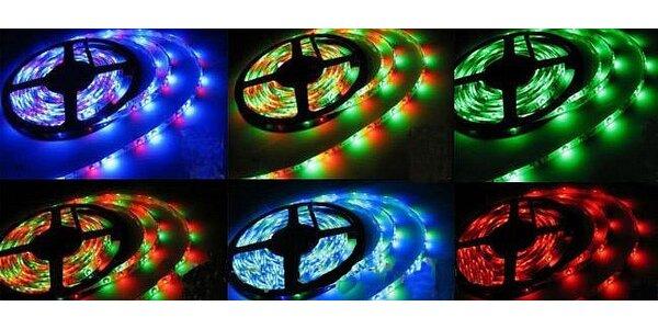 LED pásik dlhý 5 m s diaľkovým ovládaním