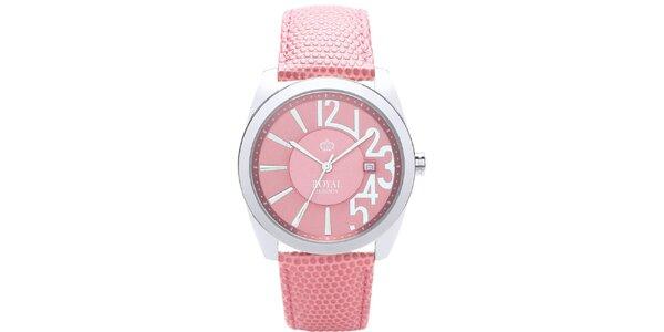 Dámske ružové hodinky Royal London