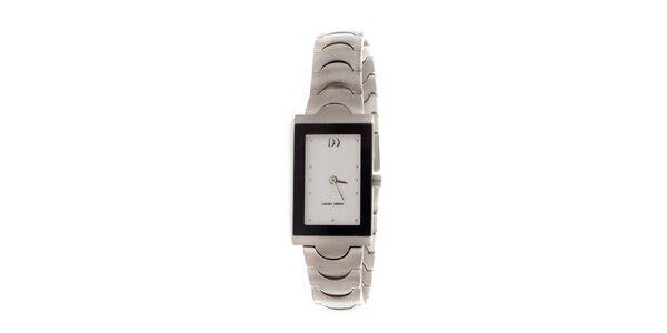 Dámske titanové hodinky Danish Design s obdĺžnikovým ciferníkom