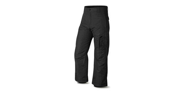 Pánske čierne lyžiarske nohavice Hannah s membránou