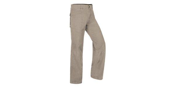 Pánske svetlo šedé nohavice Hannah