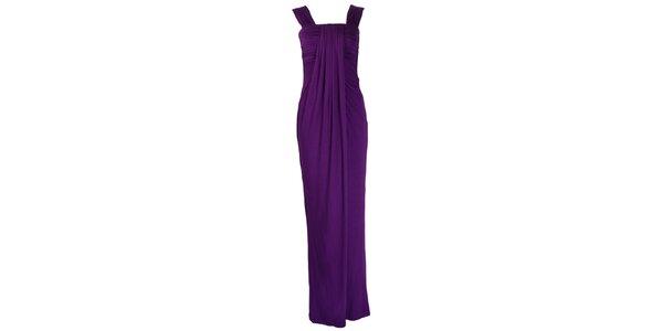 Dámske fialové plesové šaty CeMe London