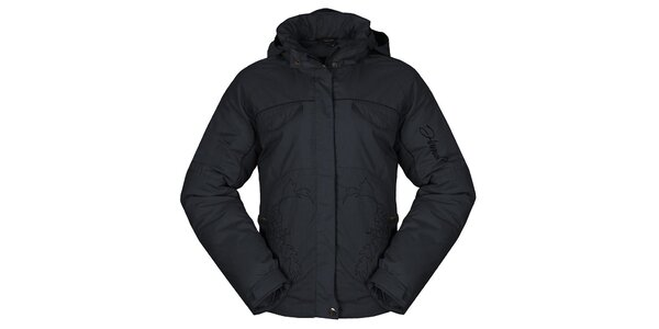 Dámska antracitová zimná bunda Hannah