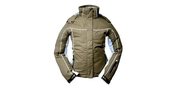 Dámska svetlo hnedá zimná bunda Hannah