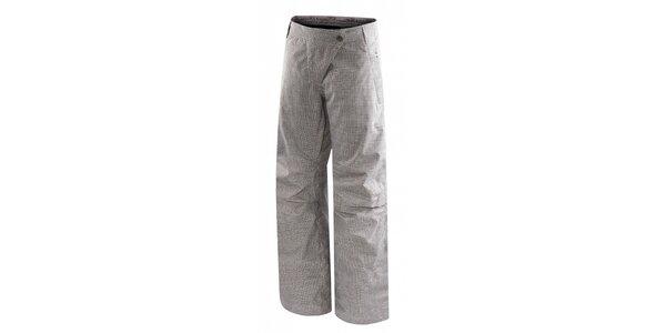Dámske šedé kockované lyžiarske nohavice Hannah