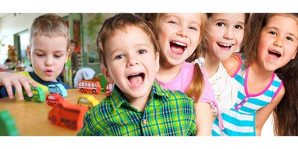 Vstup do zábavného detského centra JayMo