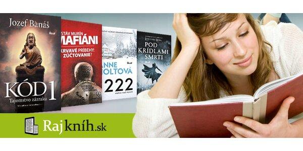 Zľava 25 % na nákup z RajKníh.sk