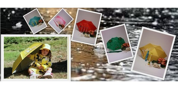Veselé a hravé dáždniky pre vaše deti