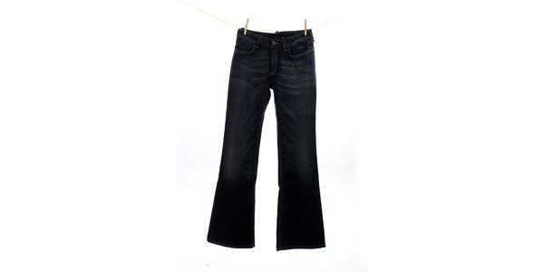 Dámske modré strečové zvonové džínsy Max Mara